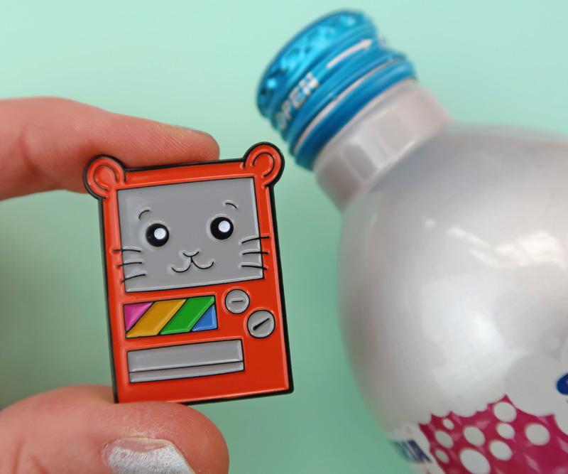 Cute Japanese Vending Machine Pin