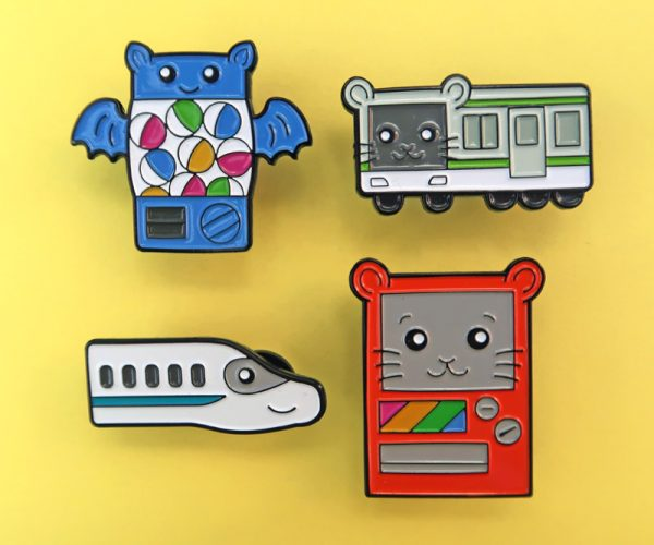 Kawaii Japanese Enamel Pins