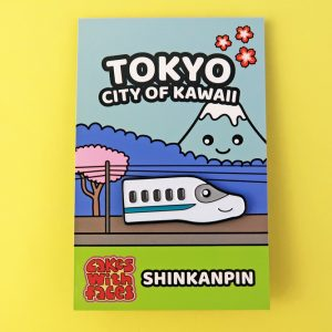 Kawaii Japanese Bullet Train Pin