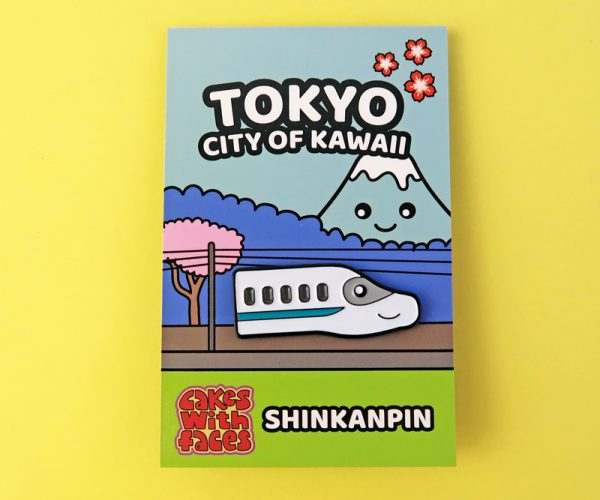 Kawaii Japanese Bullet Train Pin