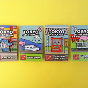 Tokyo City of Kawaii Enamel Pins Set