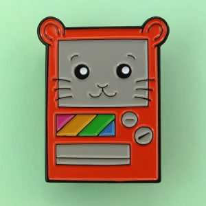 Vendpin Machine Enamel Pin Badge