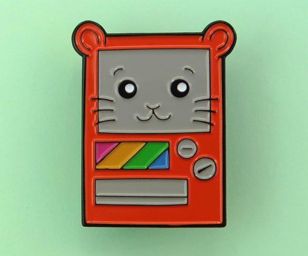 Vendpin Machine Enamel Pin Badge