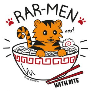 Cute Ramen Tiger T-Shirt