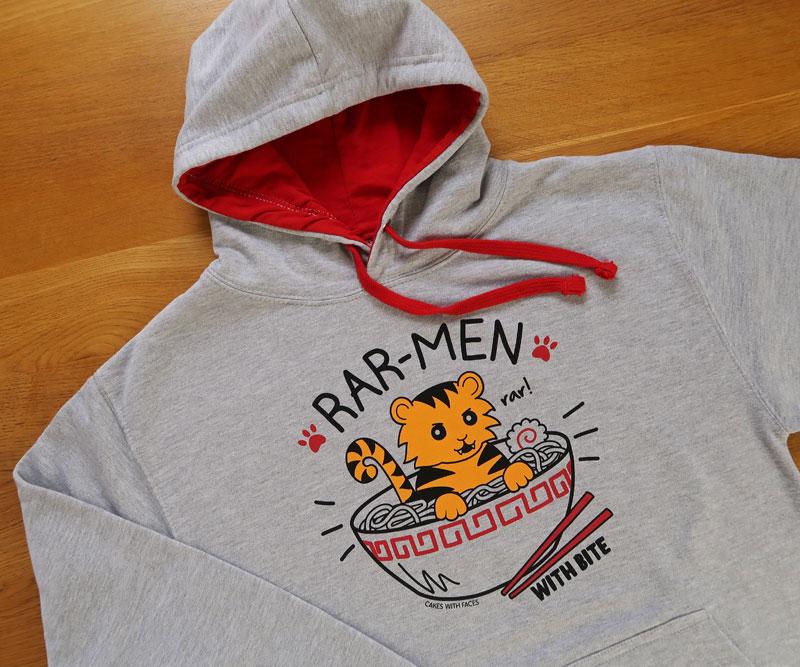 Ramen Tiger Hoodie