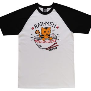 Rar-men T-Shirt (Ramen Tiger)