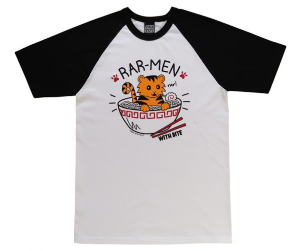 Rar-men T-Shirt (Ramen Tiger)
