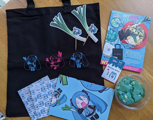 Hatsune Miku x Shoryu Limited Edition Items
