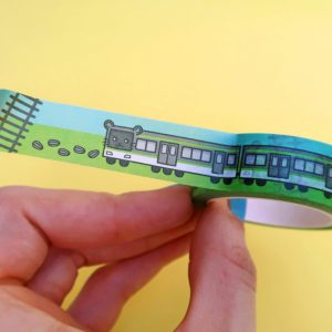 Hamanote Line Washi Tape