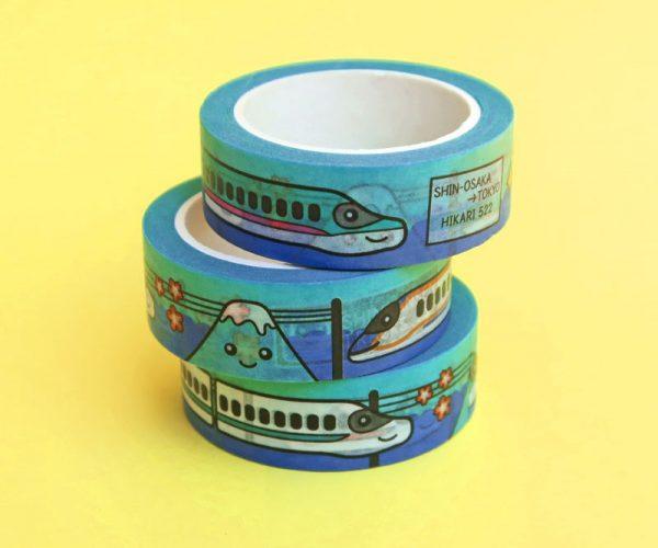 Shinkansen Washi Tape