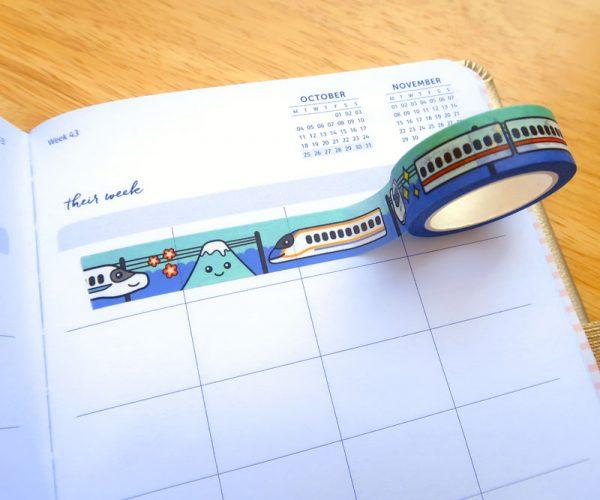 Shinkansen Masking Tape
