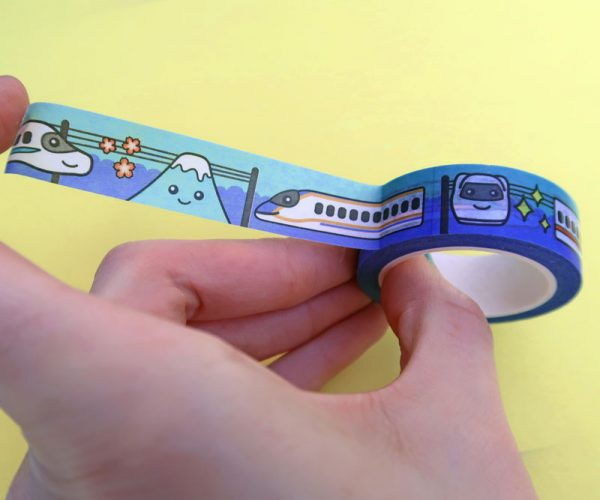 Japanese Train Washi Tape