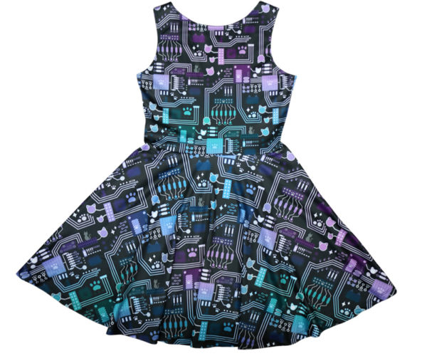 Circatboard Dress Back