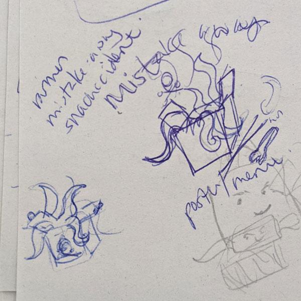 Mistakeaway Sketch