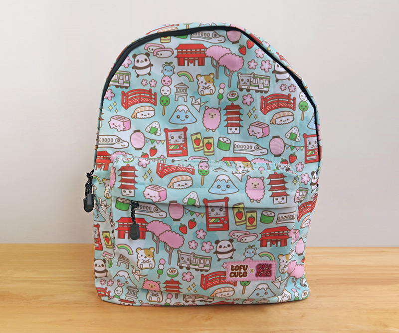 Tofu Cute x Cakes with Faces Backpack