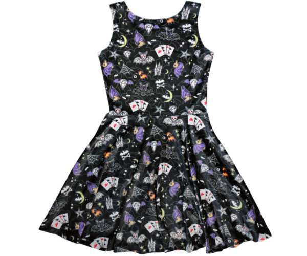 Cute Bat Skater Dress