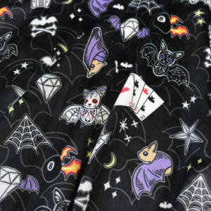 Bat tattoos pattern