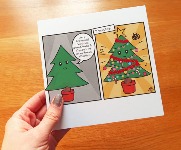 Quirky ChristmasCard